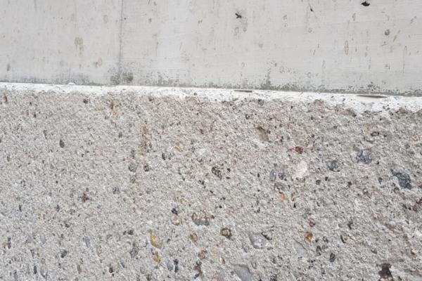 Beton Oberfläche die Pneumatisch gestockt wurde